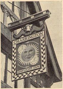 Daylight Inn Original Pub Sign