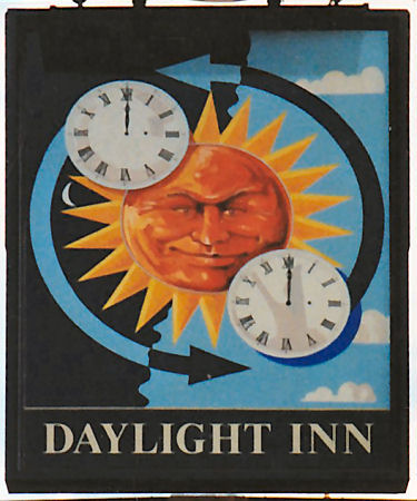 The Old Daylight Inn Sign